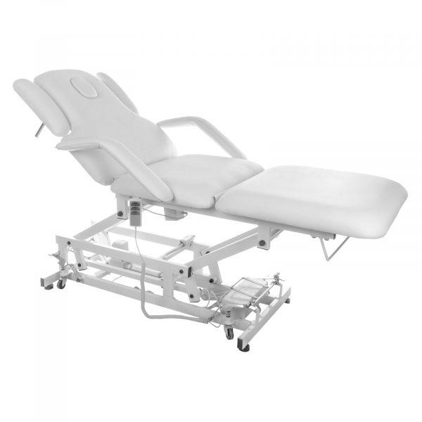 Komfortný masážny stôl DELIRIOUS - biely - 1