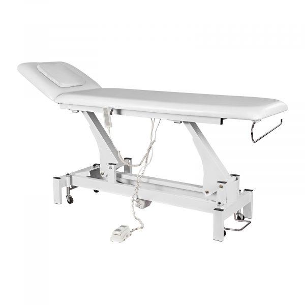 Komfortný masážny stôl RELAXO biely - 1