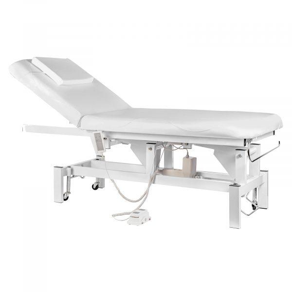 Komfortný masážny stôl SANA - biely - 1