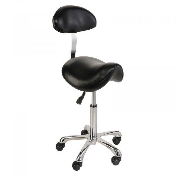 Stolička RELAXY - čierna - 1