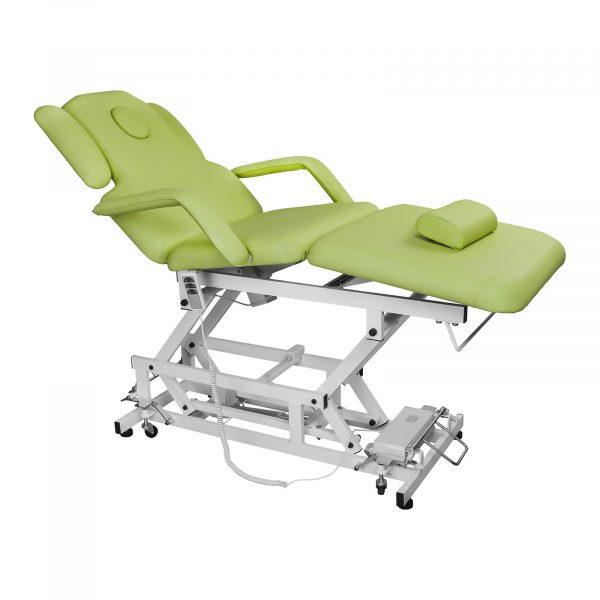 Elektrické masážne kreslo DELIRIOUS - svetlo zelené - 1