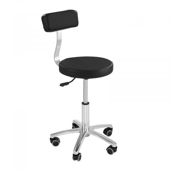 Kadernícka stolička MONZA - čierna - 1