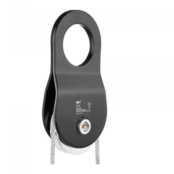 Číslo produktu: 10060188 Model: MSW-UR-10A Detaily produktu: maximálne zaťaženie: 10 t priemer lana: 1-14 mm mazacie čapy zdvojnásobenie ťažnej sily zdvíhanie a obrátenie smeru ťahu