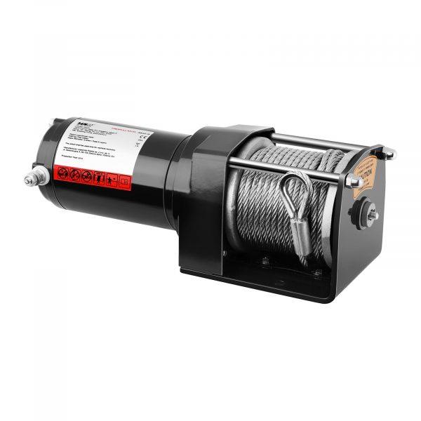 Kód produktu: 10060661 Model: PROPULLATOR 3500-B Detaily produktu: Ťažný výkon: 1 590 kg / 3 500 lbs Motor s permanentnými magnetmi Dĺžka lana: 12 m Priemer lana: 5,5 mm Veľkosť bubna: Ø 27 mm