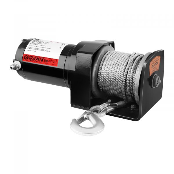 Kód produktu: 10060668 Model: PROPULLATOR 2000-C Detaily produktu: Ťažný výkon: 907 kg / 2 000 lbs Motor s permanentnými magnetmi Dĺžka lana: 15 m Priemer lana: 4 mm Veľkosť bubna: Ø 32 mm