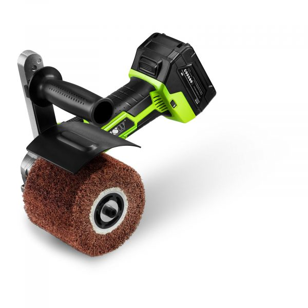 Číslo produktu: 10060164 Model: MSW-BUR400AKK Detaily produktu: Výkon: 450 W Počet otáčok 1 100-2 900 ot / min Valce: 100-120 mm Prevádzka na akumulátor Funkcia rýchleho dobíjania