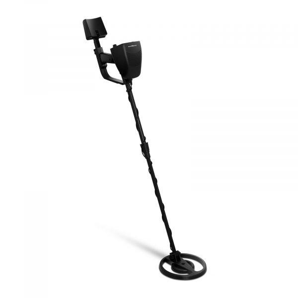 Číslo produktu: 10030304 Model: SBS-MD-1 Detaily produktu: Max. hĺbka - veľké predmety 200 cm Max. hĺbka - malé predmety 25 cm Nast. teleskopická tyč: 75,5-105 cm Pracovná frekvencia 6,5 ~ 6,8 kHz Konektor pre slúchadlá: 3,5 mm