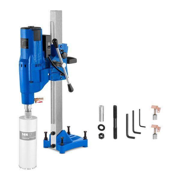 Číslo produktu: 10060436 Model: MSW-DDM205 Detaily produktu: Výkon: 3 900 W Počet otáčok 580 ot / min Max. priemer vŕtania 205 mm Vrátane systému vodného chladenia Sieťový kábel s chráničom PRCD