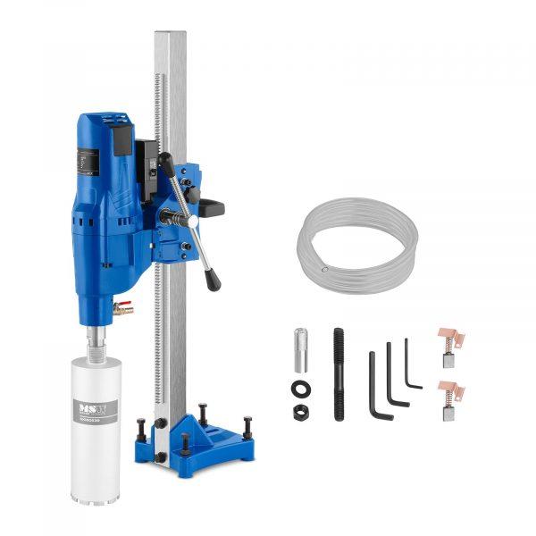 Číslo produktu: 10060435 Model: MSW-DDM230 Detaily produktu: Výkon: 4 800 W Počet otáčok 570 ot / min Max. priemer vŕtania 230 mm Vrátane systému vodného chladenia Sieťový kábel s chráničom PRCD