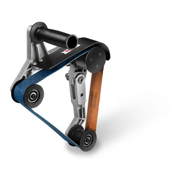 Číslo produktu: 10060892 Model: MSW-POLM14 Detaily produktu: Závit: M14 Brúsny uhol: 270 ° Veľkosť brúsneho pásu: 40 x 760 mm Zrnitosť: P60 Rýchla výmena