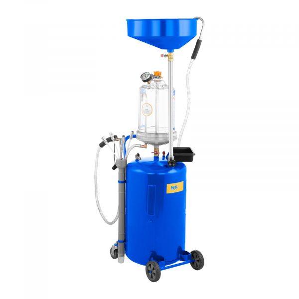 Číslo produktu: 10060309 Model: MSW-OBG80D Detaily produktu: Prevádzková teplota oleja: 40-60 ° C Pracovný tlak: 9 barov Pohyblivé predné kolesá z PVC Objem nádrže: 75 l 6 odsávacích sond