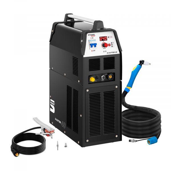 Číslo produktu: 10020150 Model: S-CUTTER 40 Detaily produktu: Rezný prúd: 14 - 40 A Doba zapnutia 60% Rezný výkon až 12 mm Digitálny ukazovateľ rezného prúdu 2T / 4T