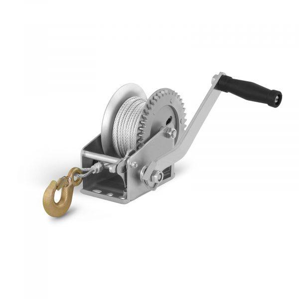 Číslo produktu: 10060181 Model: PROPULLATOR 1000-MH Detaily produktu: Ťažný výkon: 450 kg / 1.000 lbs Prevodový pomer: 3,5: 1 Dĺžka lana: 10 m Priemer lana: 4 mm račňová kľučka