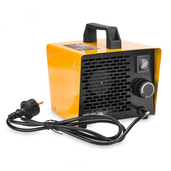 Elektrický ohrievač | POWERMAT 2,5kW 230V s termostatom vhodný na vykurovanie menších miestnosti.Dve úrovne regulácie vykurovacej energie.