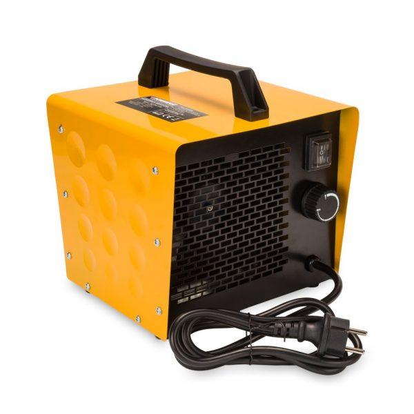 Elektrický ohrievač | POWERMAT 3,5 kW 230V s termostatom pre nastavenie teploty vykurovania. Automatické vypnutie pri dosiahnutí požadovanej teploty.