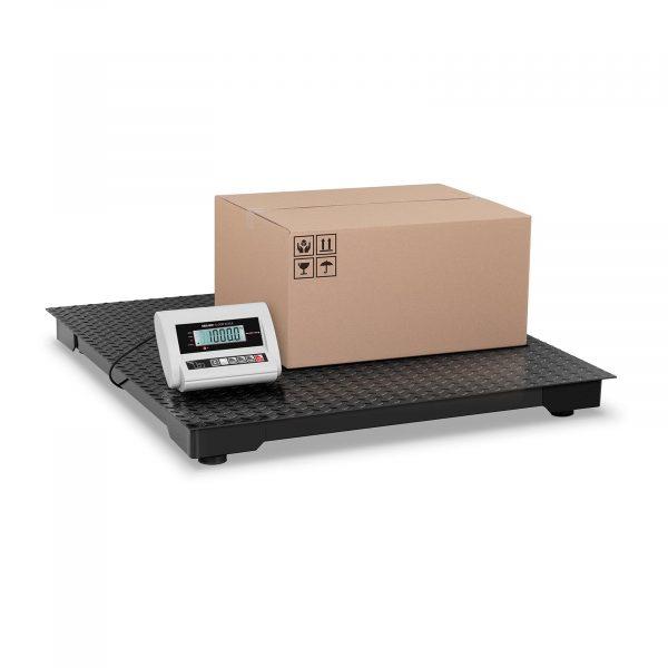 Podlahová balíková váha ECO - 1 000 kg / 0,5 kg - LCD. Vysoká presnosť váženia v rozsahu 2 až 1000 kg. Nízka nakladacia plocha uľahčuje mainipuláciu tovaru.