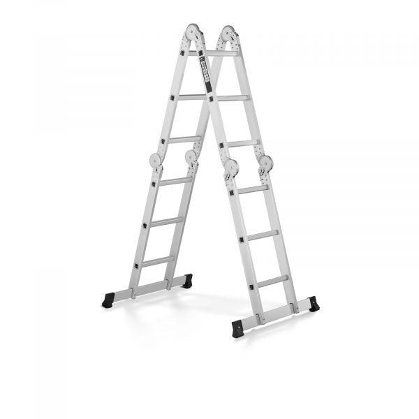 Multifunkčný rebrík 3 v 1 MSW-AVL12 - 10060952 Multifunkčný rebrík 3 v 1 MSW-AVL12, nosnosť do 150 kg, mnohostranne použiteľný vďaka maximálnej pracovnej výške 3,56 m, blokovací mechanizmus.