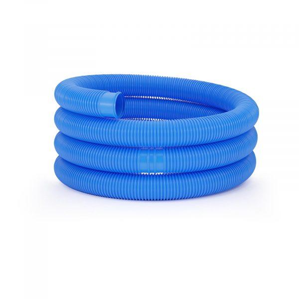 Bazénová hadica UNI_POOL_HOSE_38/6 s dĺžkou do 6 m a priemerom 38 mm je vhodná na použitie v nádržiach a nadzemných bazénoch.