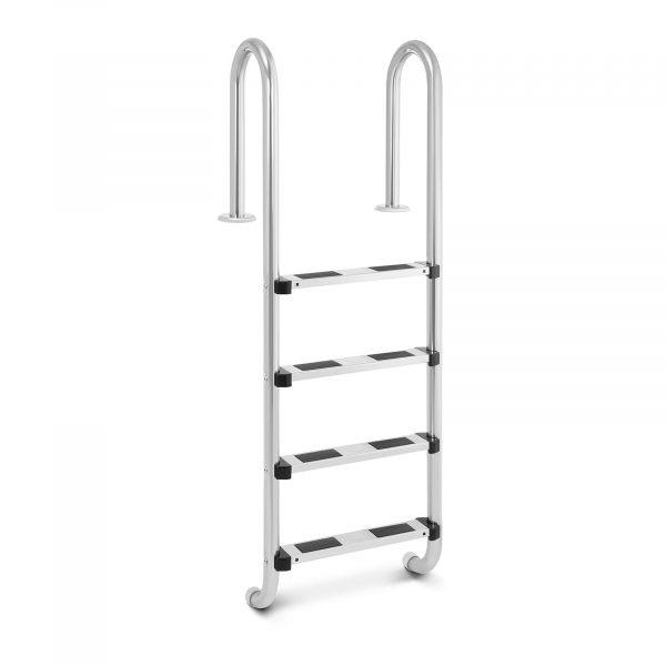 Bazénový rebrík - 4 stupne | 1570 mm, s protišmykovým povrchom pre bezpečnosť zabezpečuje bezpečný a jednoduchý vstup / výstup z bazéna.