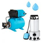 Ponorné čerpadlá na vodu a pumpy vody