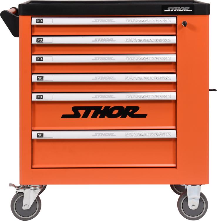2002210d9b793 Dielenský vozík s náradím 6 zásuviek Sthor | 184 ks náradia. Pevná stabilná  konštrukcia,