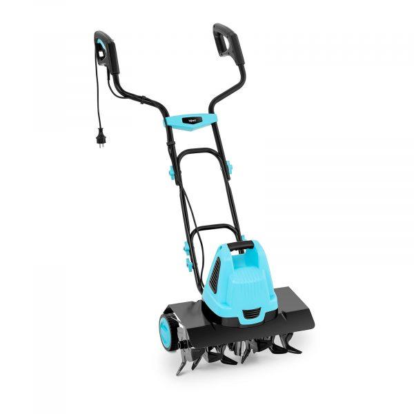 Elektrický rotačný kultivátor - 1 500 W, 420 ot / min zaistí bezproblémové kyprenie pôdy, 24 rezných nožov, 7 rýchlostných stupňov pre mäkkú či tvrdú pôdu.