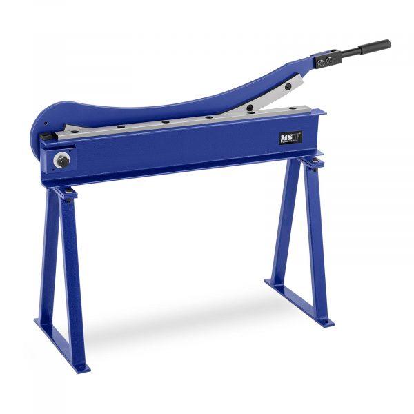 Tabuľové nožnice na plech | dĺžka rezu 800 mm, vďaka veľkým nožom s reznou plochou 800 mm a maximálnou hrúbkou plechu 1,5 mm.
