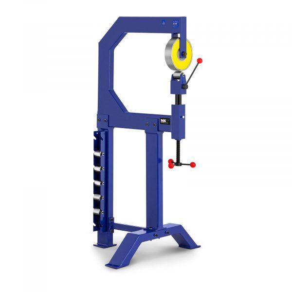 Valcovací prieťažný stroj | 560 mm so 6 vymeniteľnými valčekmi, vhodný pre tvarovanie oblých profilov plechov bez ohrevu do hrúbky 1,5mm.