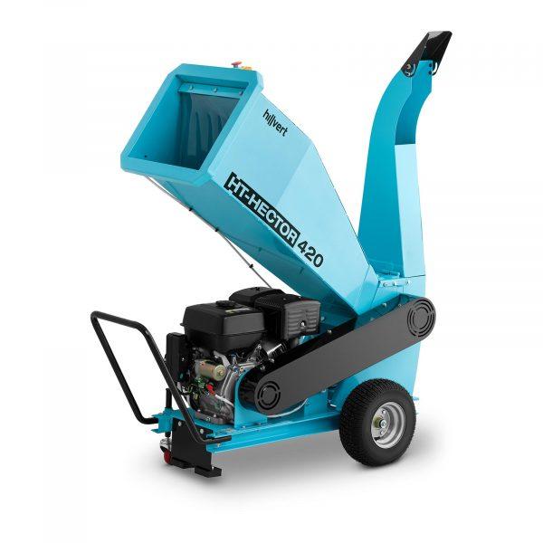 Benzínový drvič konárov - 100 mm - 1 HT-HECTOR 420