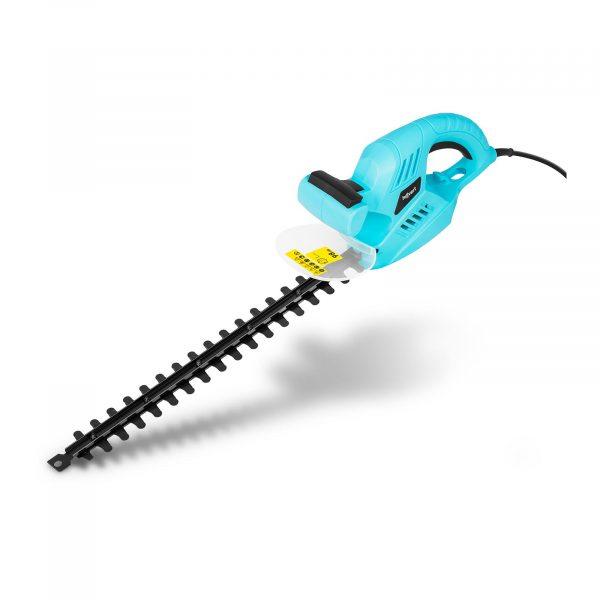 Elektrické nožnice na živý plot - 500 W, model HT-FORBES-16A - 1, s výkonom 500 W a rýchlosťou otáčok 1750 ot./min sú vhodné pre opracovanie veľkých kríkov.