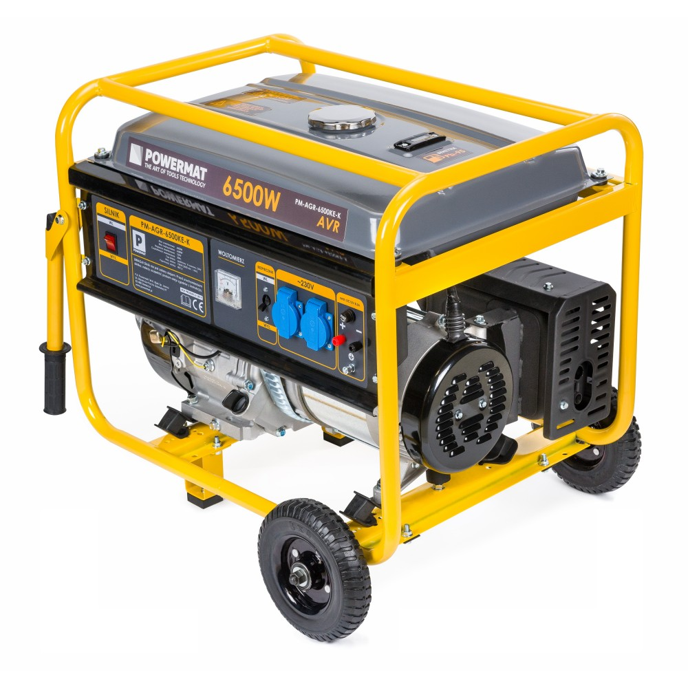 Elektrocentrála 230V / 12V | PM-AGR-6500KE-K - 8
