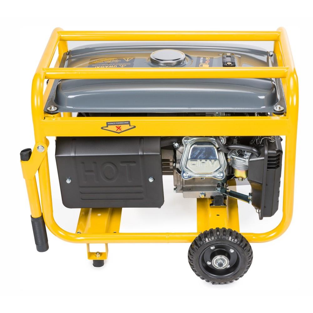 Elektrocentrála + elektrický štartér 230V / 12V | PM-AGR-3000KE-EL - 7