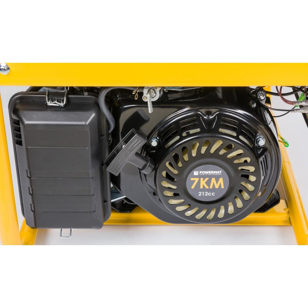 Elektrocentrála + elektrický štartér 230V / 12V | PM-AGR-3000KE-EL - 9