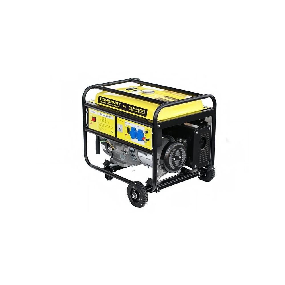 Elektrocentrála + elektrický štartér 230V / 12V   PM-AGR-6500KE - 6