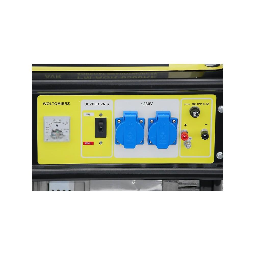 Elektrocentrála + elektrický štartér 230V / 12V   PM-AGR-6500KE - 7