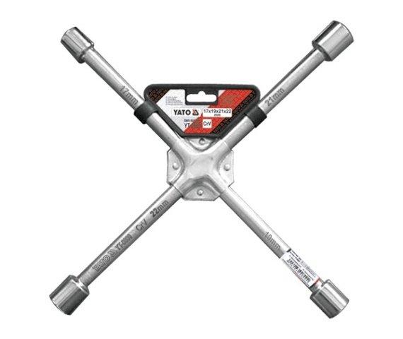 Kľúč na kolesá YATO krížový 17-19-21-22 YT-0800