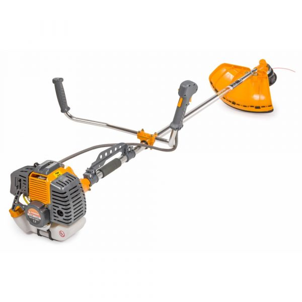 Benzínový krovinorez   PM-KS-600T vďaka maximálnym otáčkam 11000 [ot / min] je určený na kosenie trávy, kríkov, ovocných sadov a pod.