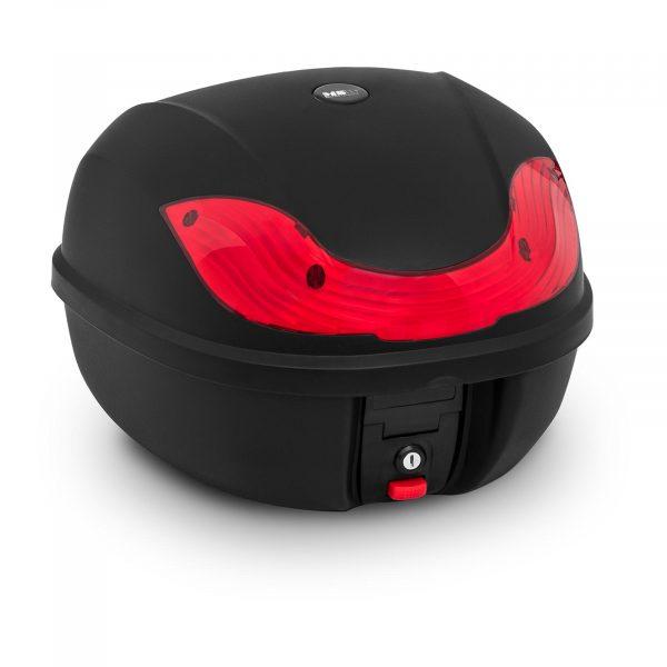 Kufor na motocykel - 38 L | MSW-MC38L3 s maximálnym zaťažením produktu 3 kg ho možno umiestniť na najrôznejšie modely skútrov a motocyklov.