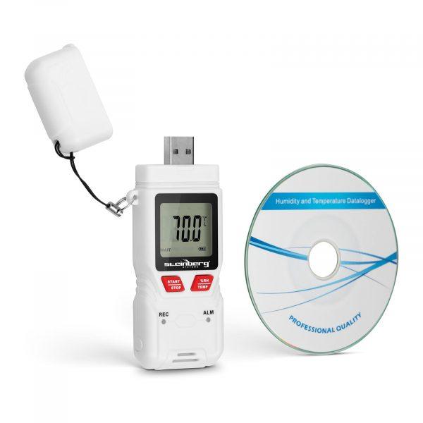Záznamník teploty a vlhkosti - LCD SBS-DL-200L - 1