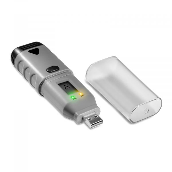 Záznamník teploty a vlhkosti - USB, LCD | SBS-DL-123D má veľkú pamäť pre 32 tisíc. záznamov. Presné meranie teploty s presnosťou ± 0,3% / dm. ± 3%.