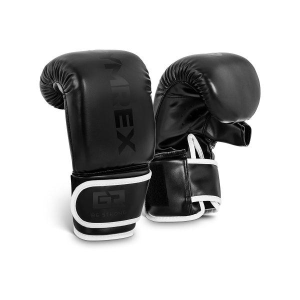 Boxerské rukavice | 12 oz - čierne, model : GR-BG 12PB, vhodné na boxerské tréningy pre začinajúcich aj pokročilých boxerov.