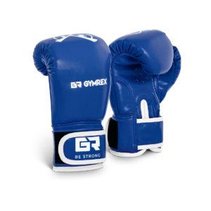 Boxerské rukavice pre deti | 4 oz – modré, model : GR-BG 4P, pre výcvik detí v boxe, kickboxe a ďalších bojových umeniach.