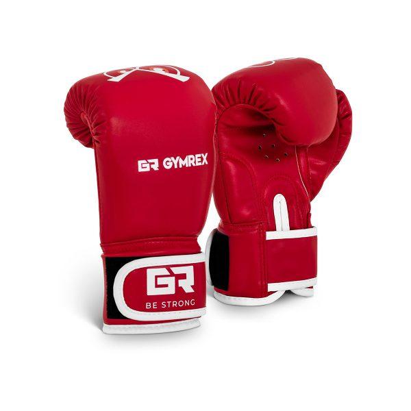 Boxerské rukavice pre deti | 4 oz – červené, model : GR-BG 4B, vynikajúca stabilizácia zápästia, široký popruh na suchý zips.