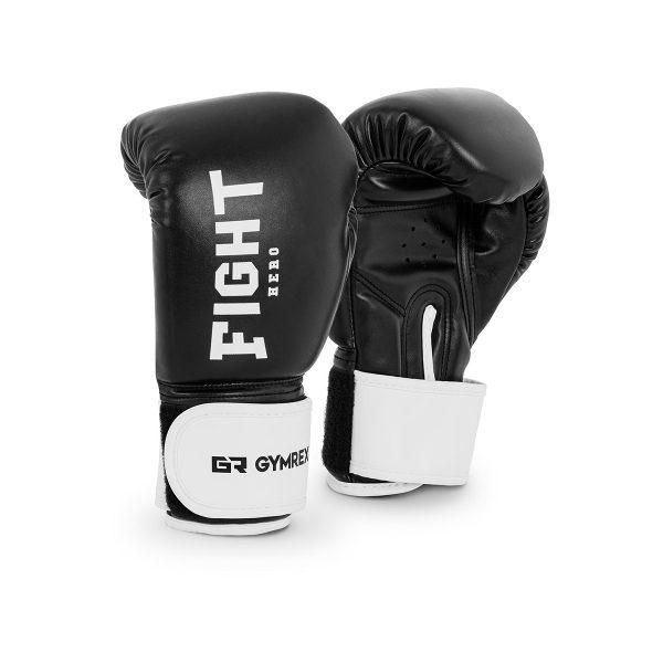 Boxerské rukavice pre deti | 6 oz - čierne, model : GR-BG 6W, pre výcvik detí v boxe, kickboxe a ďalších bojových umeniach.