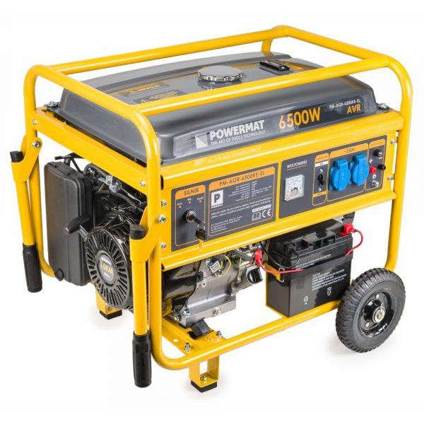 Elektrocentrála 230V 12V PM-AGR-6500KE-EL - 1