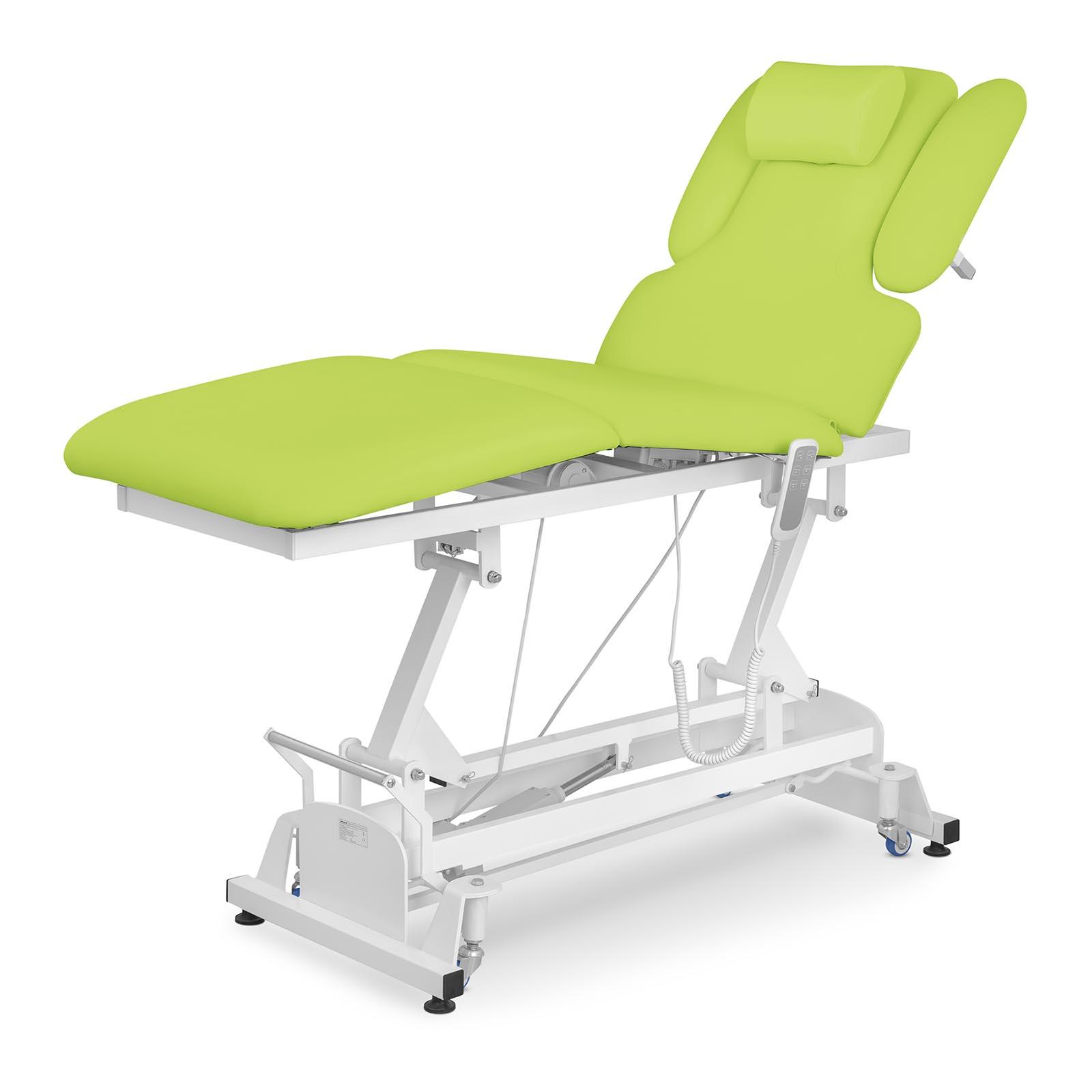 Masážny stôl elektrický | Physa Nantes Light Green