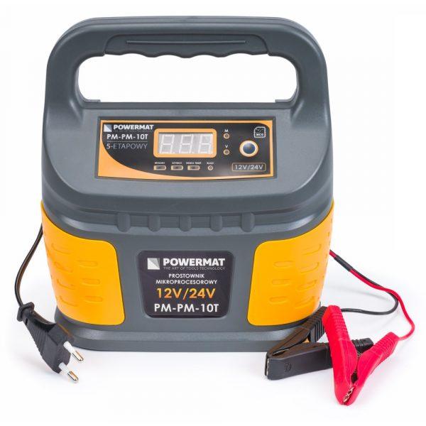 Mikroprocesorový usmerňovač batérie 12 24 V PM-PM-10T - 1