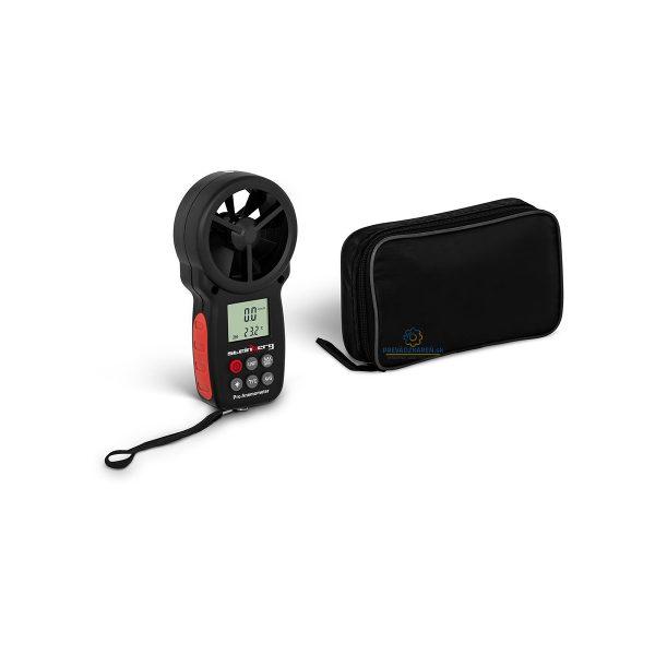 Digitálny anemometer | 30 m/s, meranie rýchlosti vetra, teploty, výkonu ventilátorov (napr. klimatizácie), lietaniu vetroňom, balónom, jachtingu, plachteniu