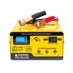 Nabíjačka autobatérii – mikroprocesorová 6/12V | PM-PM-40B, proces nabíjania: 8-krokový inteligentný alebo rýchly, zobrazenie percenta nabitia.