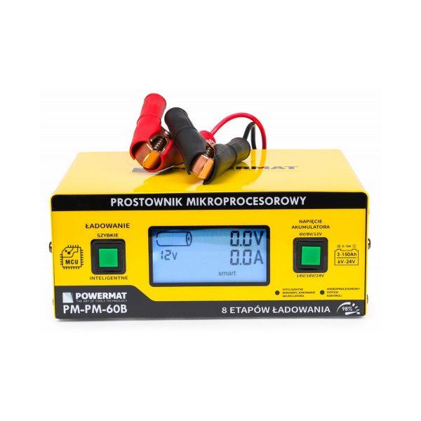 Nabíjačka autobatérii – mikroprocesorová 6 24V PM-PM-60B - 1